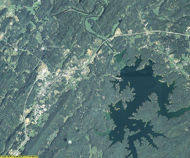 Fannin County, Georgia aerial photography