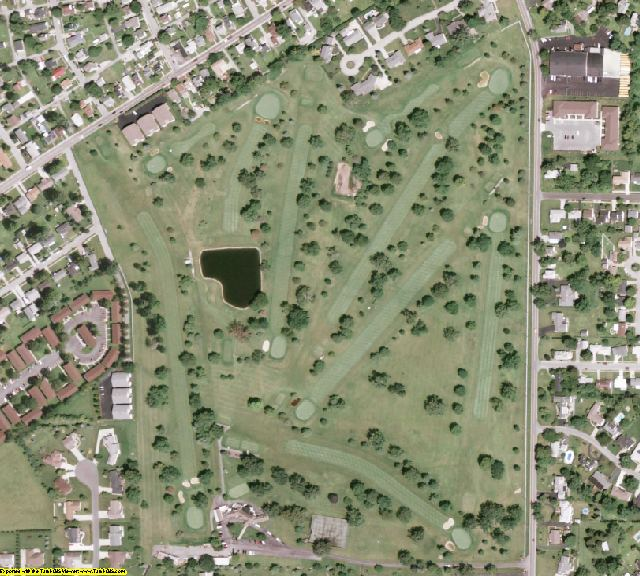 Fayette County, OH aerial photography detail