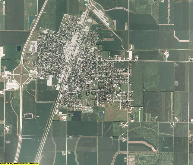 Ford County, Illinois aerial photography