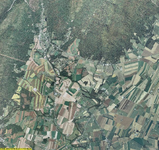 Franklin County, Pennsylvania aerial photography
