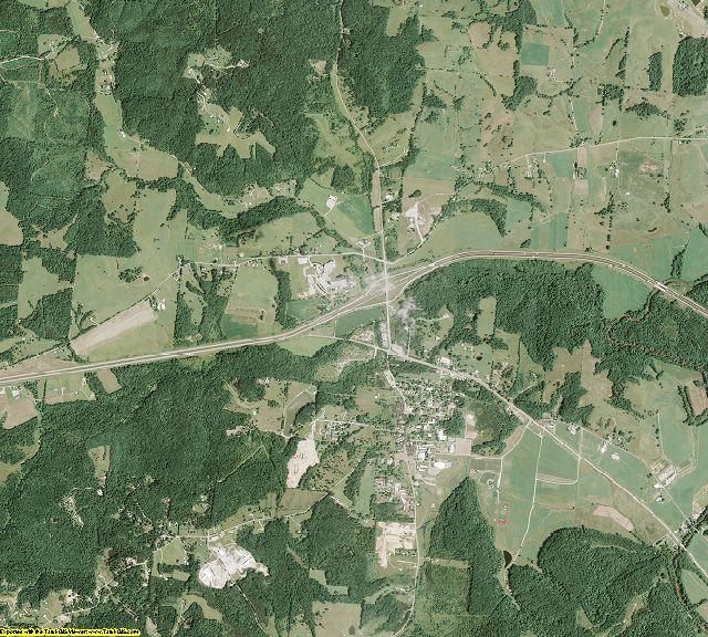 Gallia County, Ohio aerial photography