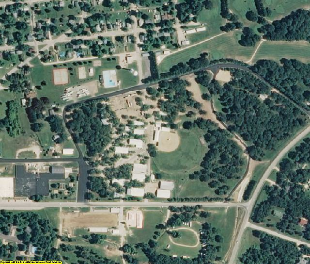 Gasconade County, MO aerial photography detail