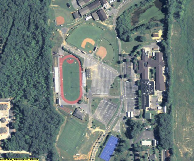 Gordon County, GA aerial photography detail