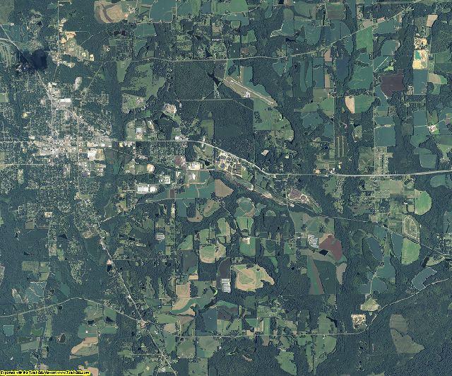 Grady County, Georgia aerial photography