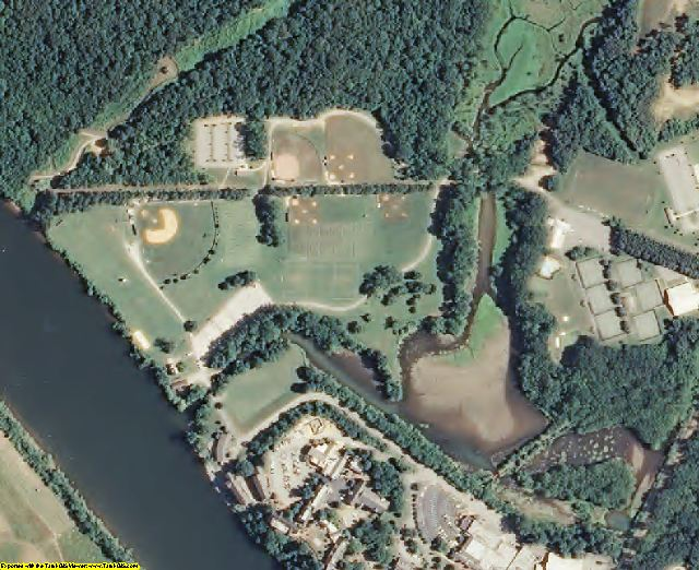 Hamilton County, TN aerial photography detail