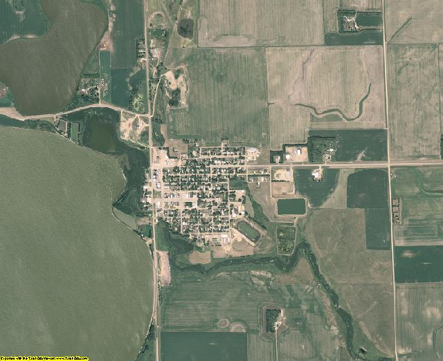 Hamlin County, South Dakota aerial photography
