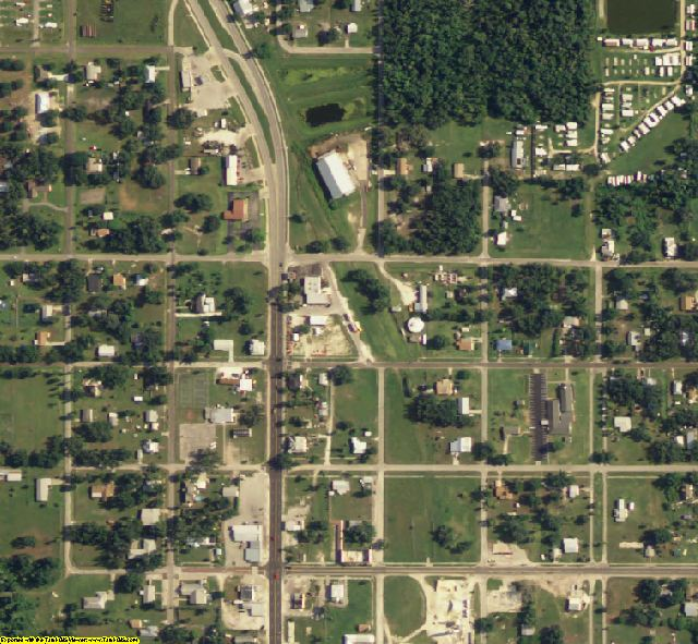Hardee County, FL aerial photography detail