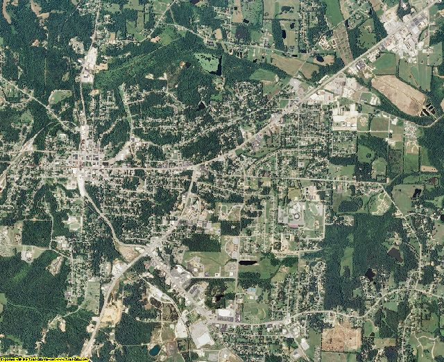 Henry County, Tennessee aerial photography