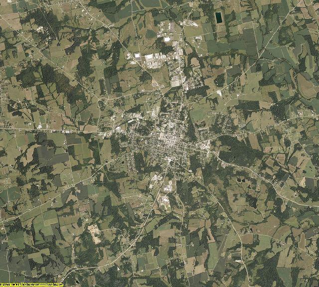 Highland County, Ohio aerial photography
