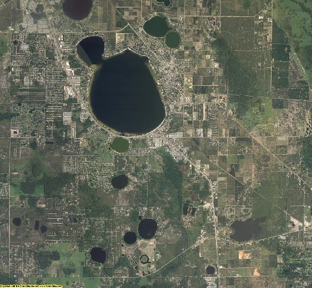 Highlands County, Florida aerial photography