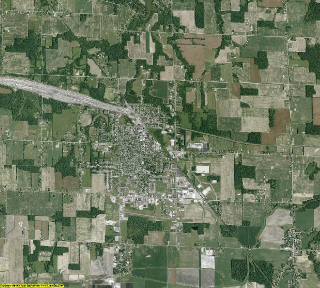 Huron County, Ohio aerial photography