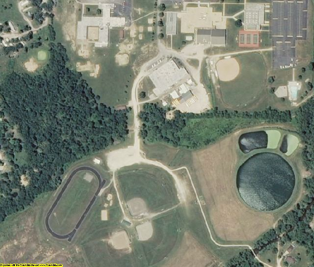 Iron County, MO aerial photography detail