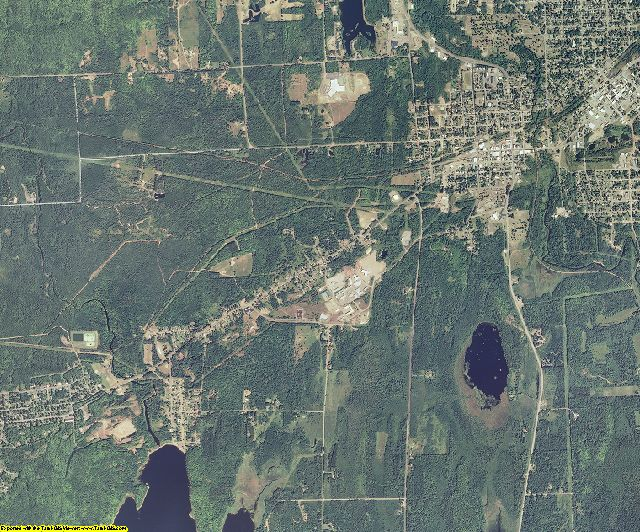 Iron County, Wisconsin aerial photography