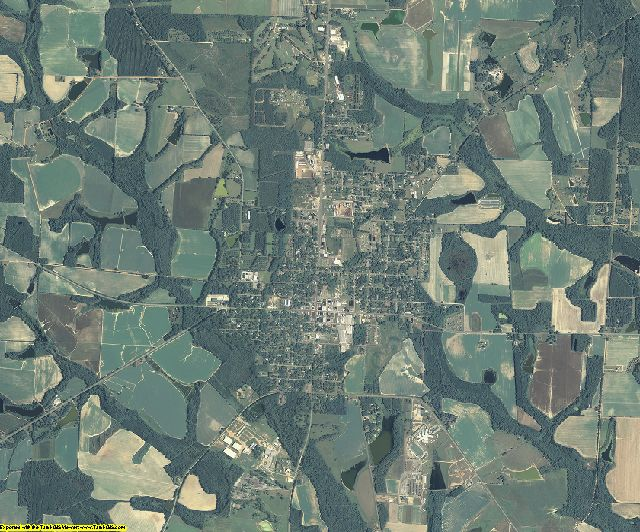 Irwin County, Georgia aerial photography