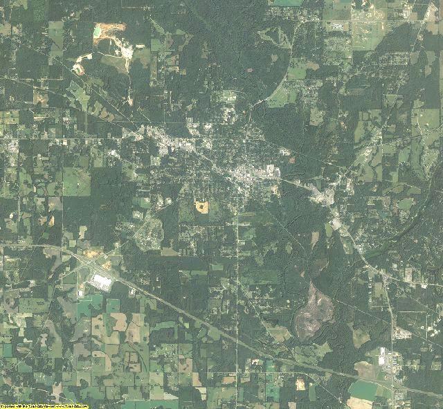 Jackson County, Florida aerial photography