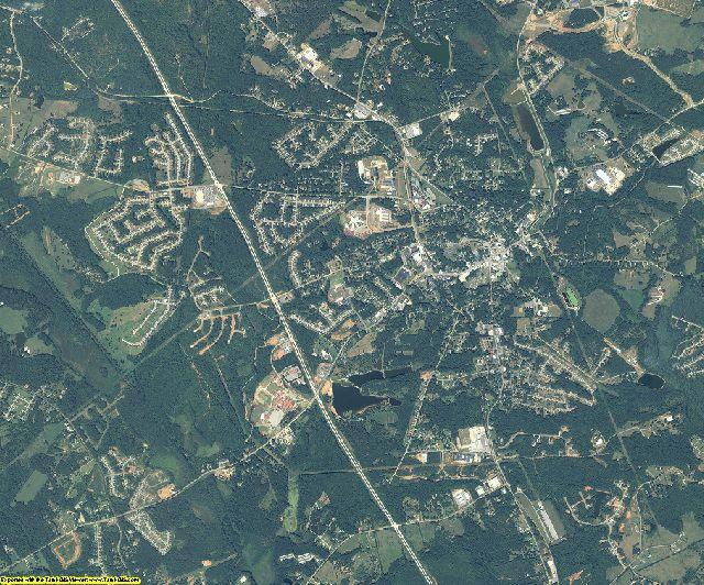 Jackson County, Georgia aerial photography