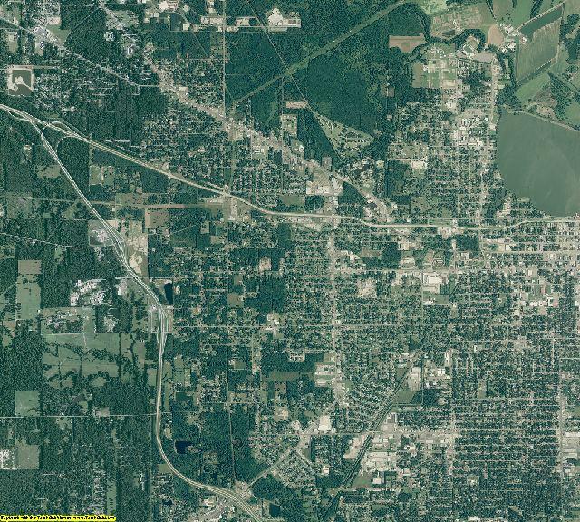 Jefferson County, Arkansas aerial photography