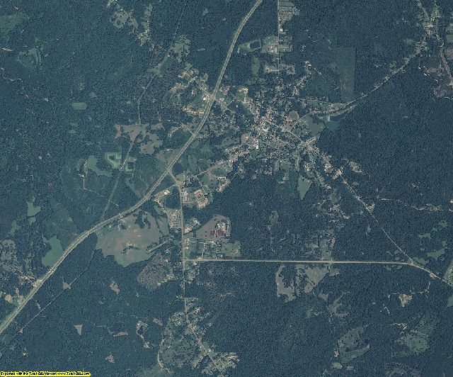 Jefferson County, Mississippi aerial photography