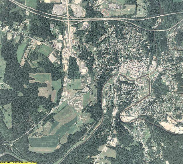 Jefferson County, Pennsylvania aerial photography