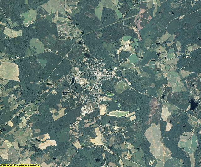 Johnson County, Georgia aerial photography