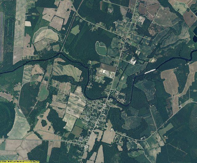 Jones County, North Carolina aerial photography