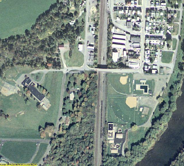 Juniata County, PA aerial photography detail