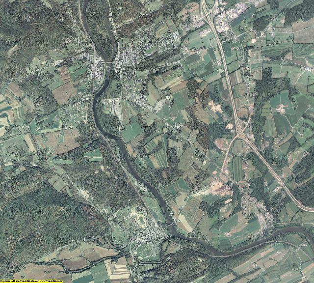 Juniata County, Pennsylvania aerial photography