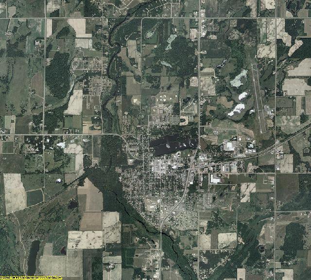 Kanabec County, Minnesota aerial photography