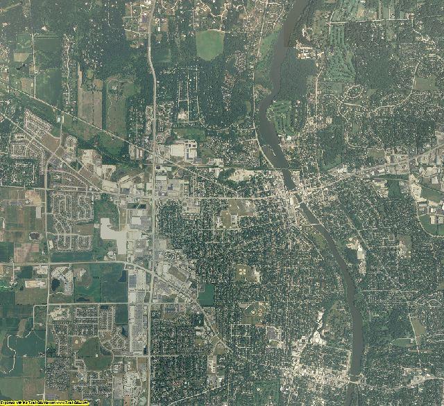 Kane County, Illinois aerial photography