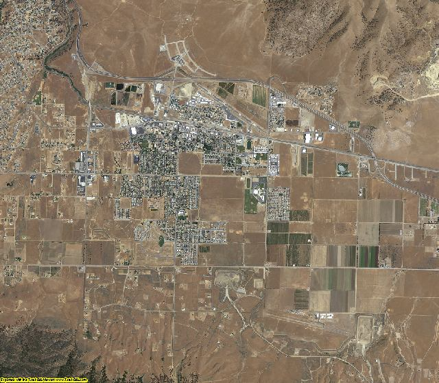 Kern County, California aerial photography