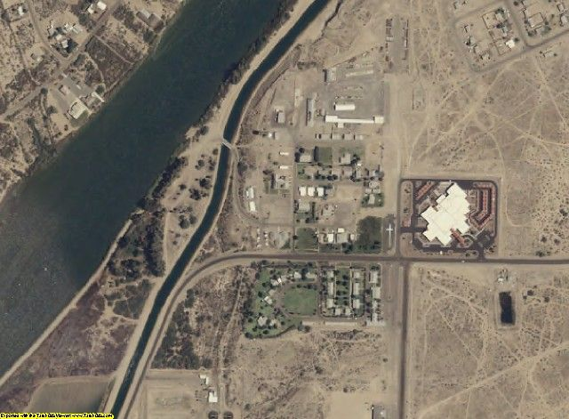 La Paz County, AZ aerial photography detail