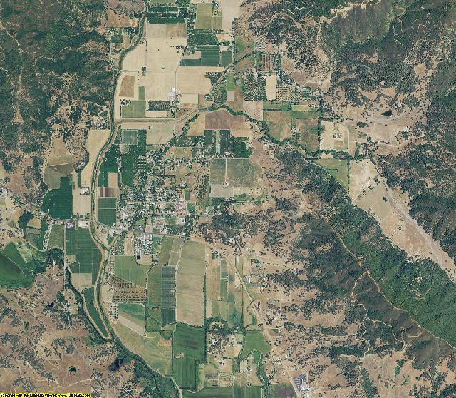 Lake County, California aerial photography