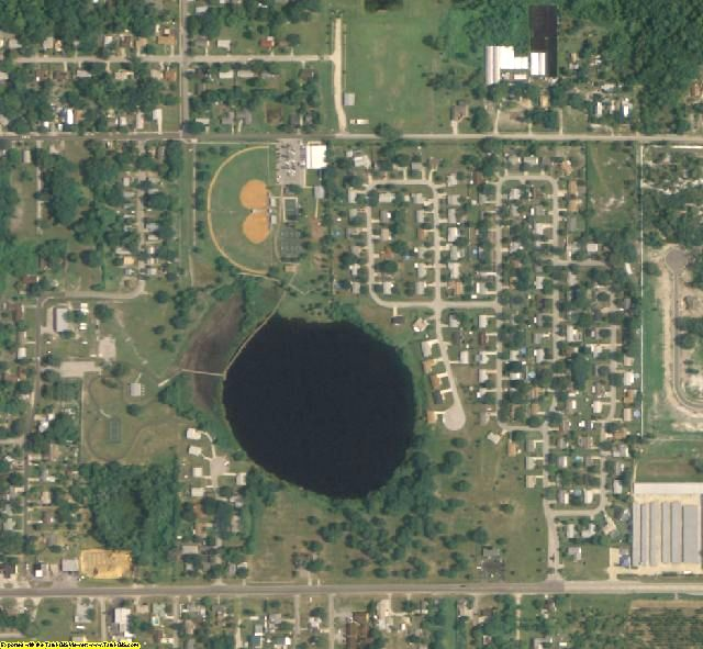 Lake County, FL aerial photography detail