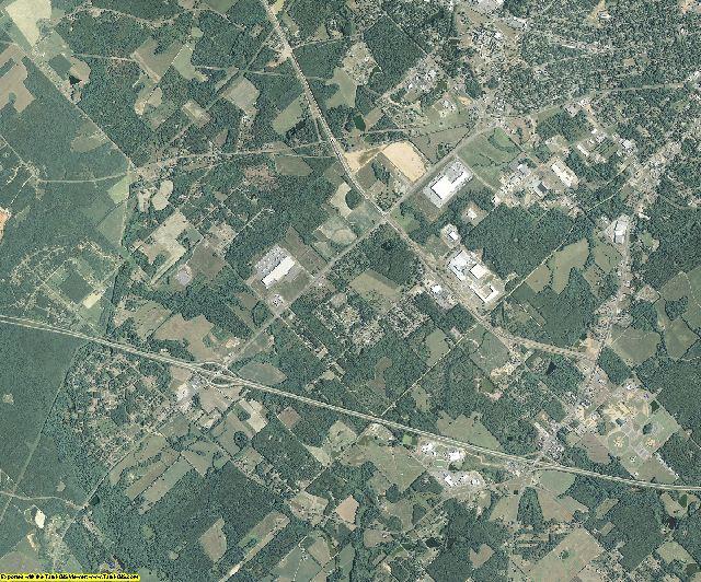Laurens County, Georgia aerial photography