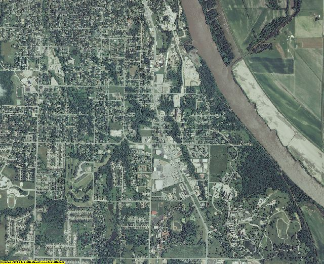 Leavenworth County, Kansas aerial photography