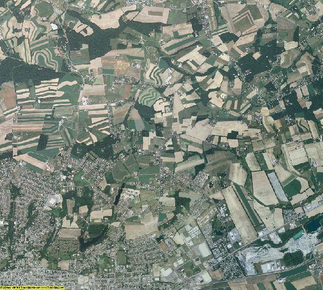 Lebanon County, Pennsylvania aerial photography