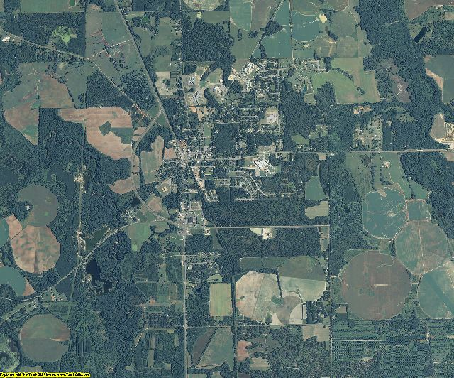 Lee County, Georgia aerial photography