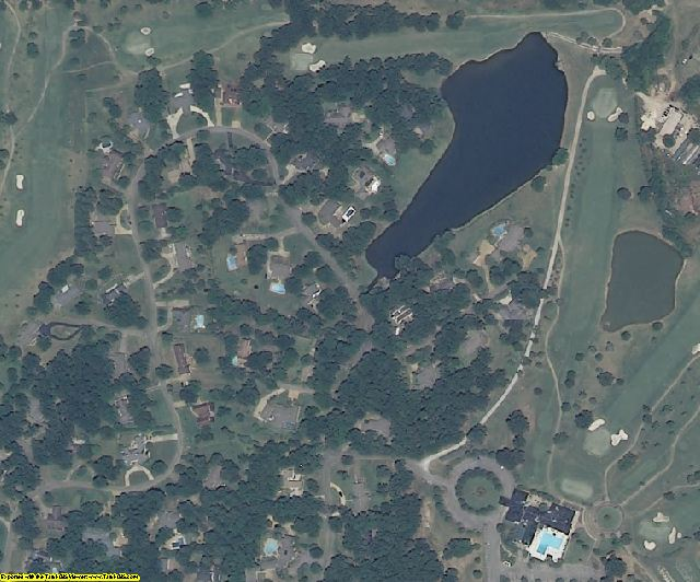 Lee County, MS aerial photography detail