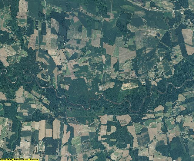 Lenoir County, North Carolina aerial photography