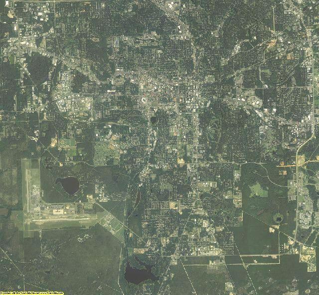 Leon County, Florida aerial photography