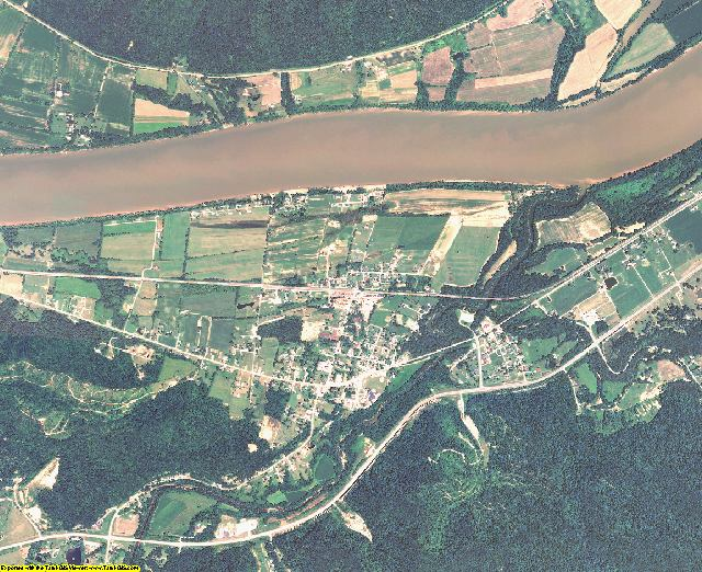 Lewis County, Kentucky aerial photography