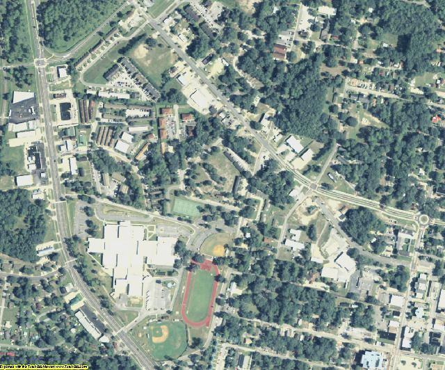 Liberty County, GA aerial photography detail