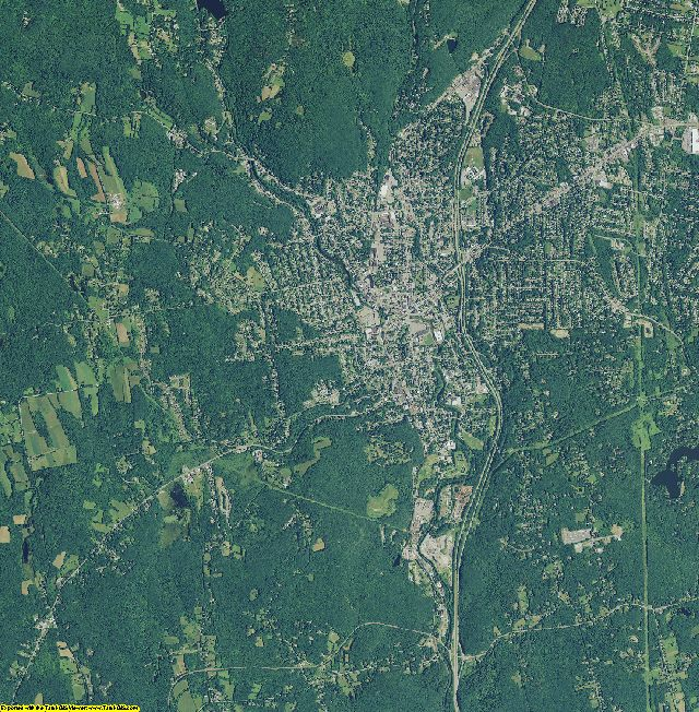 Litchfield County, Connecticut aerial photography