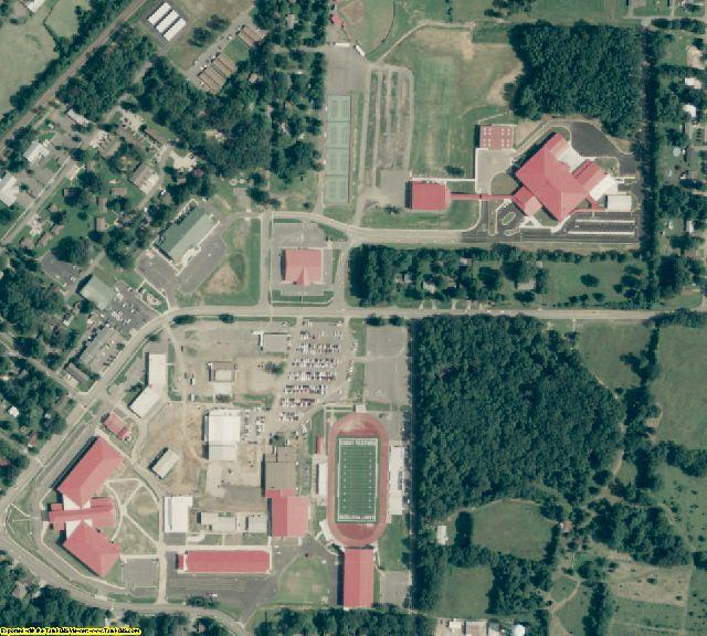 Lonoke County, AR aerial photography detail