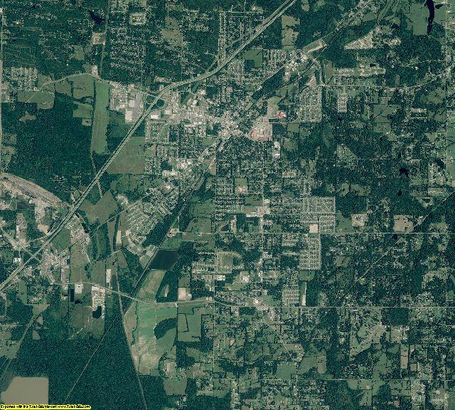 Lonoke County, Arkansas aerial photography