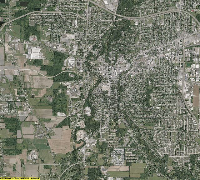 Lorain County, Ohio aerial photography