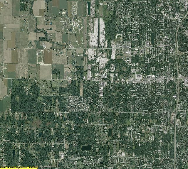 Lucas County, Ohio aerial photography
