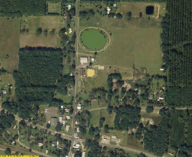 Madison County, FL aerial photography detail
