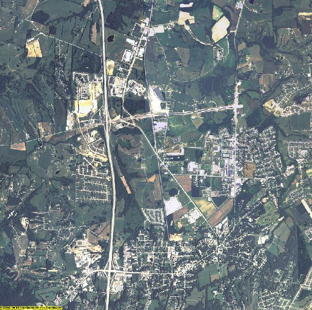 Madison County, Kentucky aerial photography