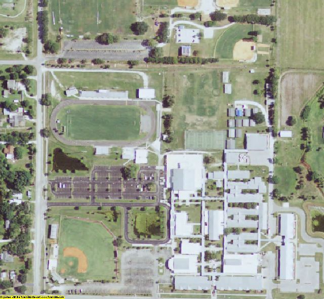 Manatee County, FL aerial photography detail